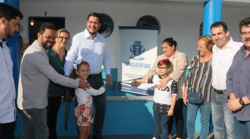 Aguilar Junior anuncia novos Cras, em cerimônia de reinauguração do Cras Centro