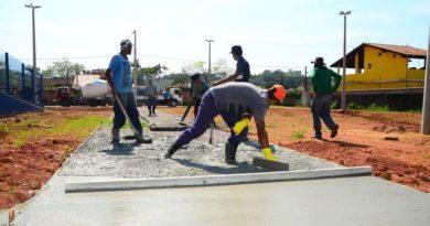 Massaguaçu recebe obras de construção de Praça do Idoso e um Ecoponto