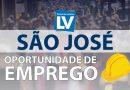 São José tem novas vagas de emprego – 23/01
