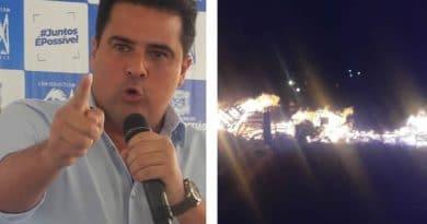 Em ligação telefônica Felipe Augusto articula manifestação para fechamento da rodovia, descumprindo ordem judicial do TJ-SP