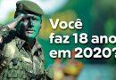 Alistamento militar de jovens nascidos em 2002 encerra na próxima semana
