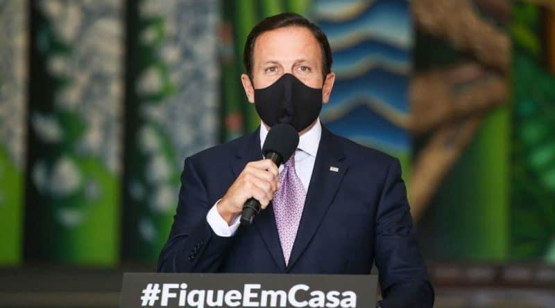 No dia seguinte após as eleições, Dória retoma restrições contra a pandemia do Covid-19