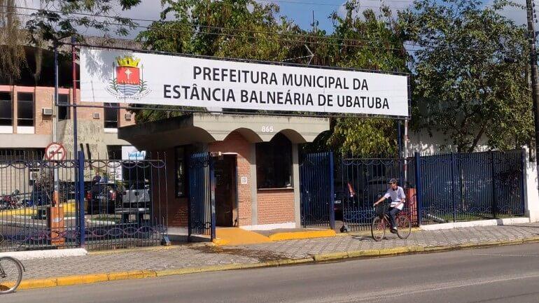 Fachada da Prefeitura de Ubatuba