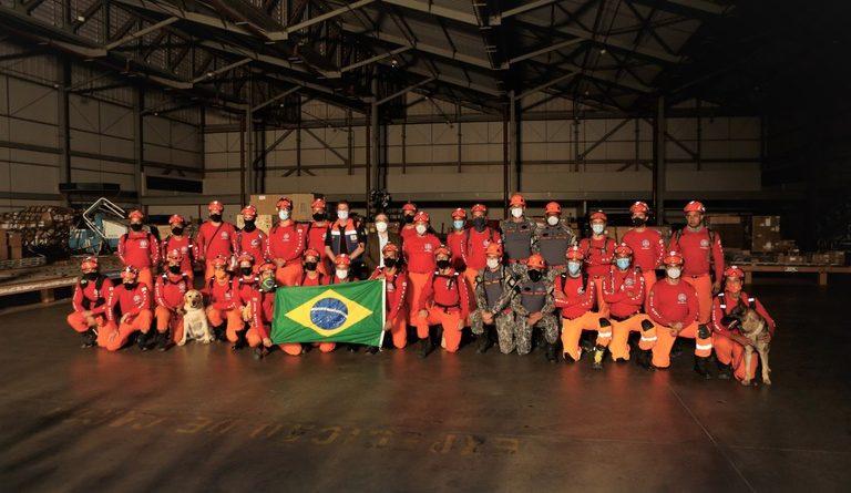 Termina após 21 dias a missão humanitária brasileira no Haiti