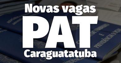 PAT de Caraguatatuba divulga novas vagas