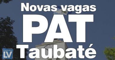 PAT de Taubaté divulga novas vagas – 24/07